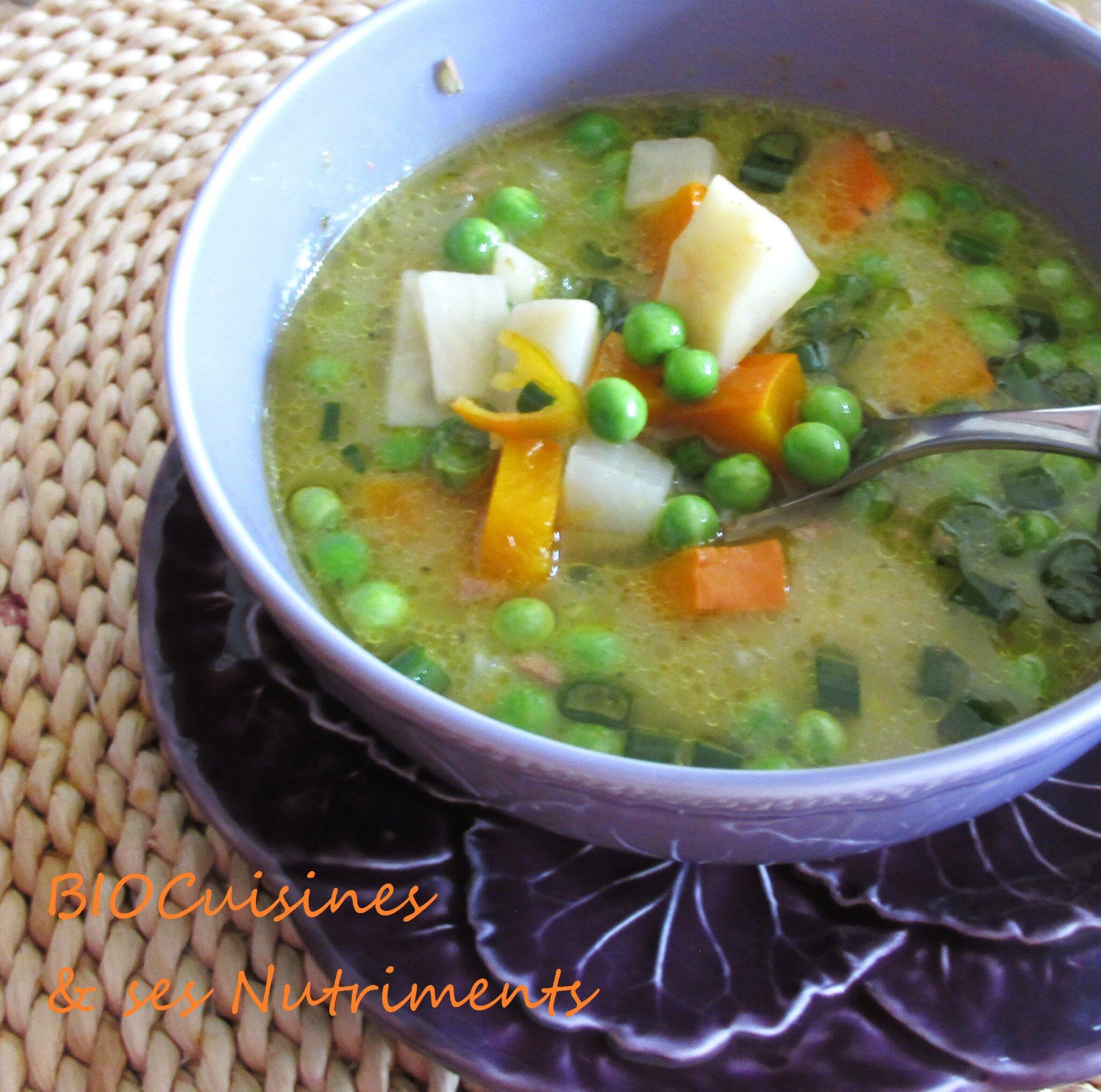 legumes cumin lait coco