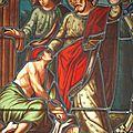 Jean et St Pierre bénissant