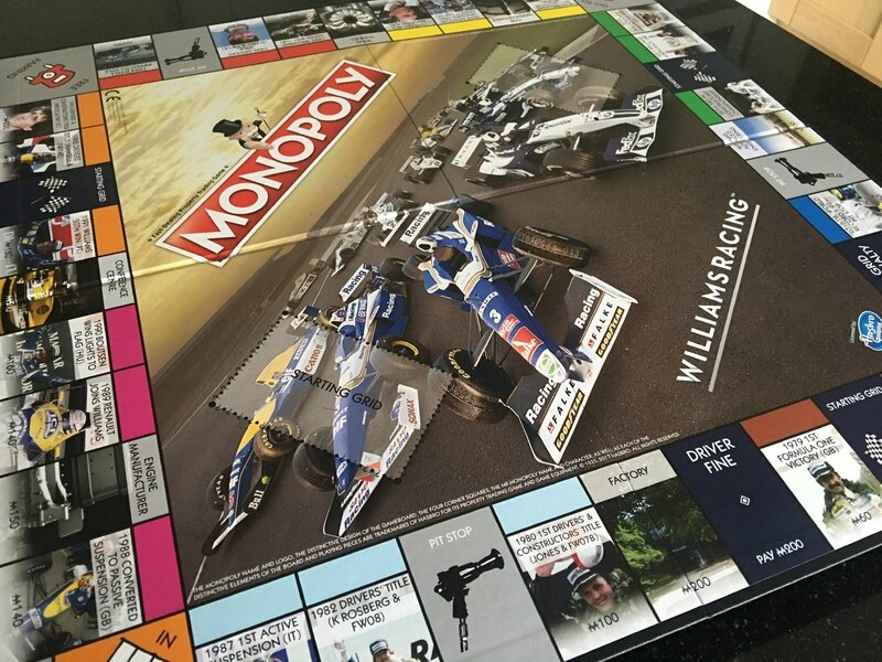 williams race day brazil monopoly
