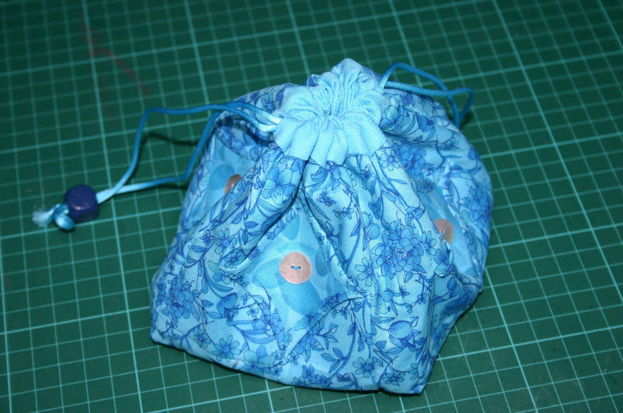 pochon turquoise 001