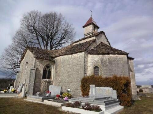 N Chapelle d'Etables -merveille rurale millénaire