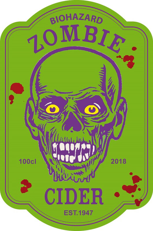 label zombie cider virus