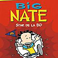Big nate, star de la bd, de lincoln peirce