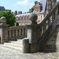 Château de fontainebleau, l'escalier central