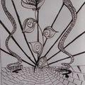 la fleur aux serpents