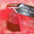Cadeaux gourmands n°1 : confiture figues/chocolat/poivre long