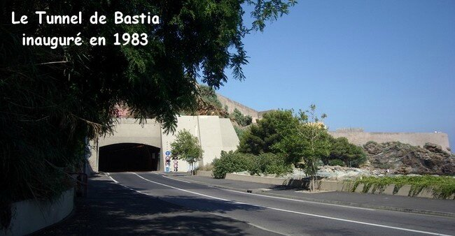 001 0330 - BLOG - Bastia - Tunnel Vieux Port - 1983 2013