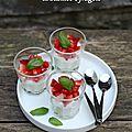 Aidez-moi à représenter l'italie à paris + recette de panna cotta au basilic et fraises