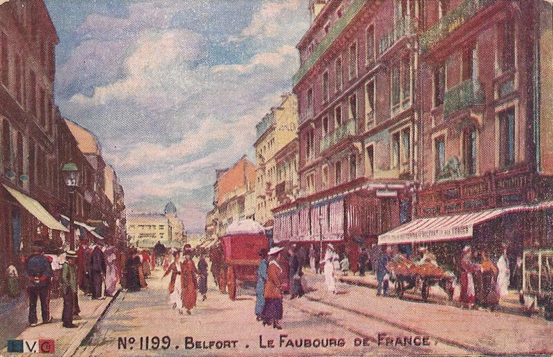 Belfort CPA LVC 1199 Faubourg France