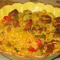 Risotto au Chorizo