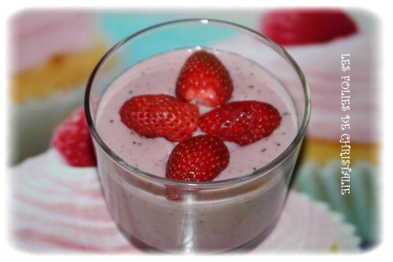 Crème fraises 1