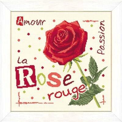 J015 La rose rouge