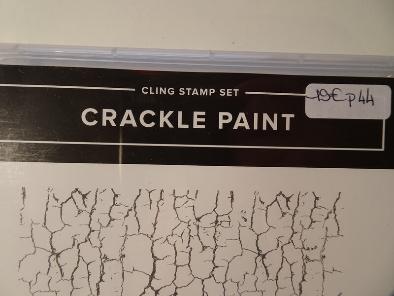 Tampons Crackle paint 1