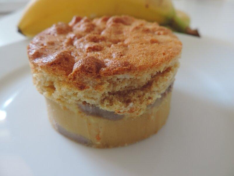 gateau magique marron bananes (14)