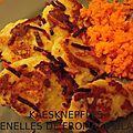 Käesknepfles ou quenelles de fromage blanc - spécialité alsacienne (avec comptage pp de ww)