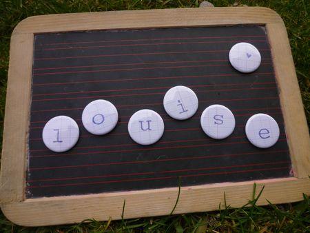 Brodi Broda-cadeau fille garçon-bébé-enfants-accessoire-aimants-magnets alphabet-enfant-prénom-4