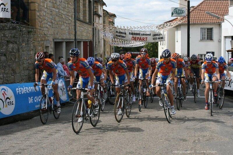 2007 Tour Périgord départ