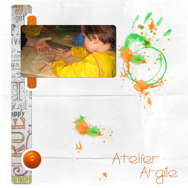Atelier argile