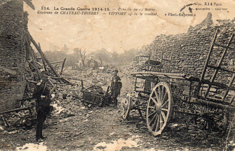 1915-guerre 14-15 bataille de la Marne