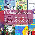 Lecture du soir (juin 2020)