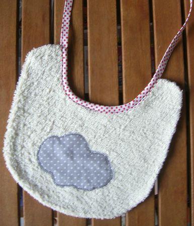 bavoir nuage