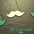 Moustache _ couleur au choix