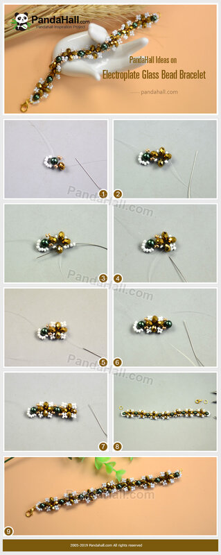 2PandaHall-Ideas-on-Electroplate-Glass-Bead-Bracelet