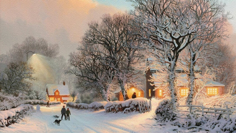 thomas-kinkade-artwork-nature-paintings-snow-1920x1080-wallpaper