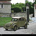 Citroën 2cv prototype