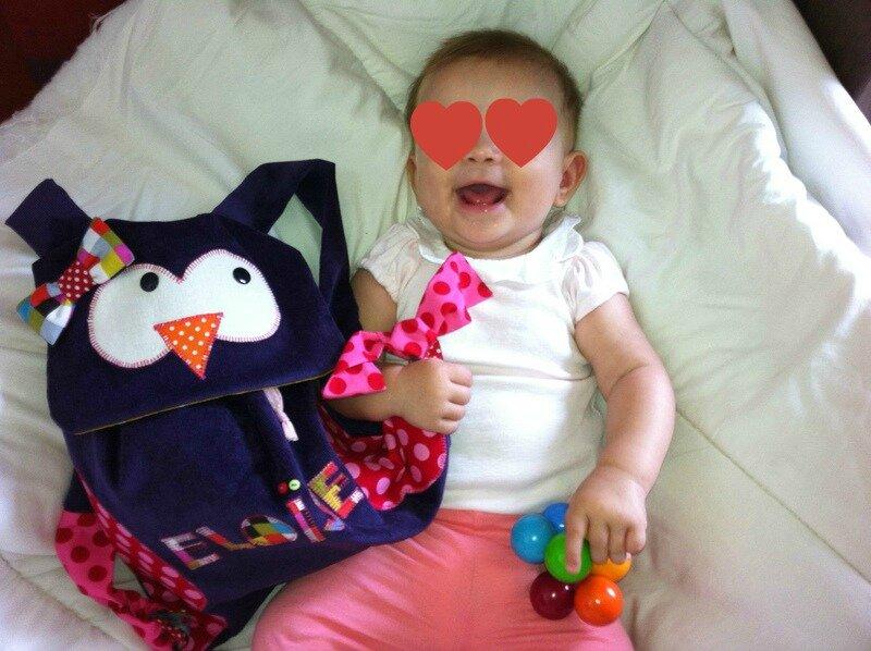 Le sac à dos d'Eloïse#