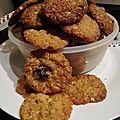 Biscuits anzac à ma façon