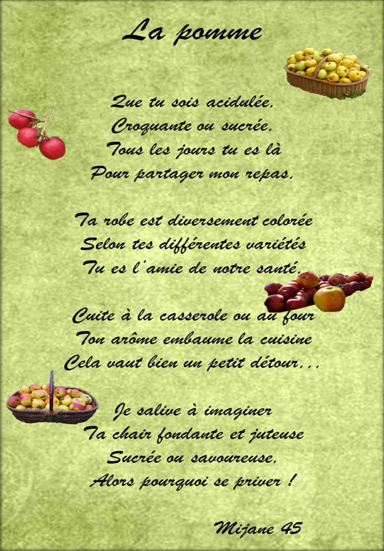 La Pomme Les Mallettes De Mijane