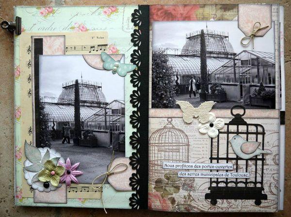 mini album Jardin d'Antan 1