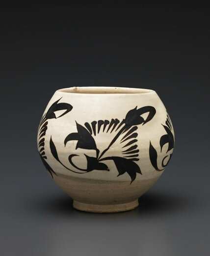 Finely Painted Cizhou Jar, Jin dynasty, 12th-13th century