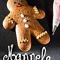 Entraînement pâtisserie de noël : mannele et caramel de dattes (version 2)