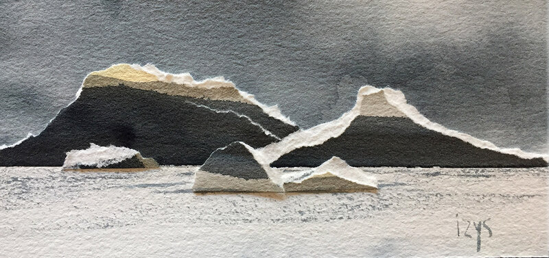 Cote islandaise 16x7,5 0119