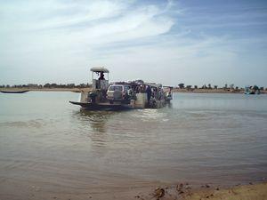 Point de traversée du Bani DJENNÉ Mali