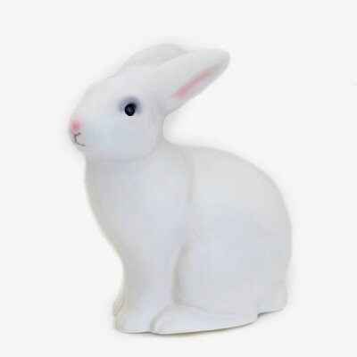 Lampe lapin blanche
