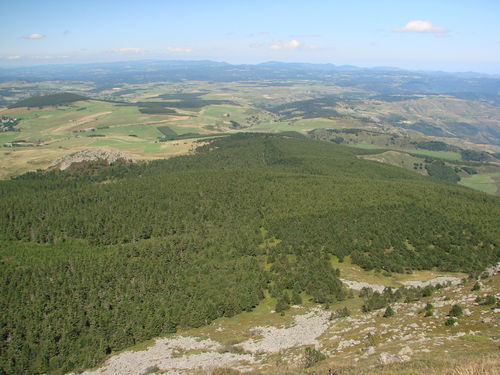 2008 08 21 Paysage vu depuis le sommet du Mont Mézenc (2)