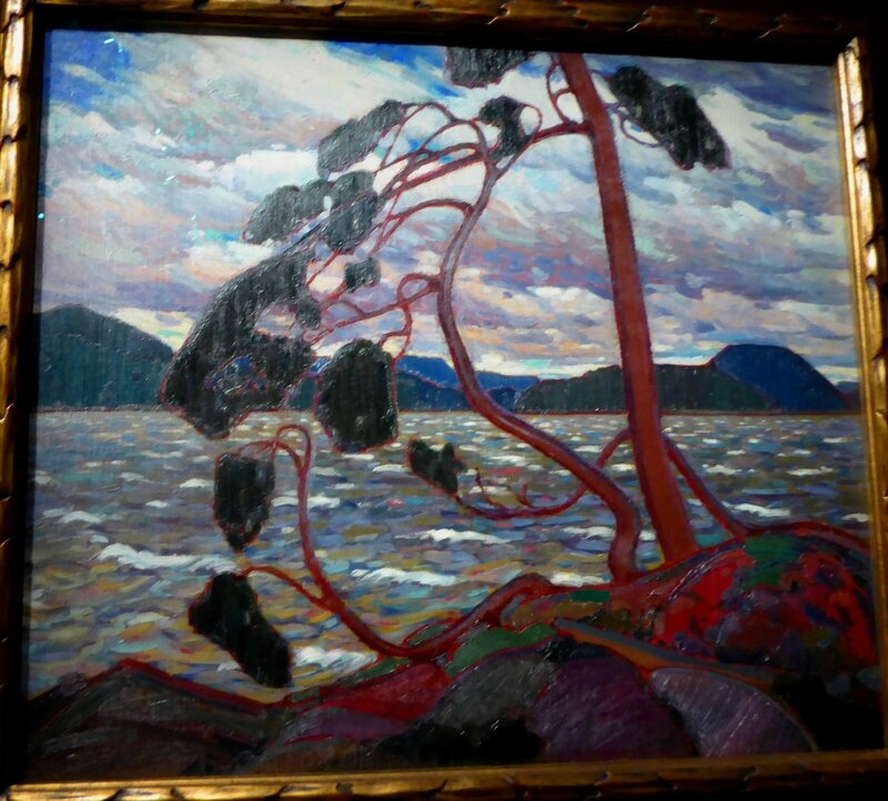 Tom Thomson Le Vent d'Ouest 1916-1917