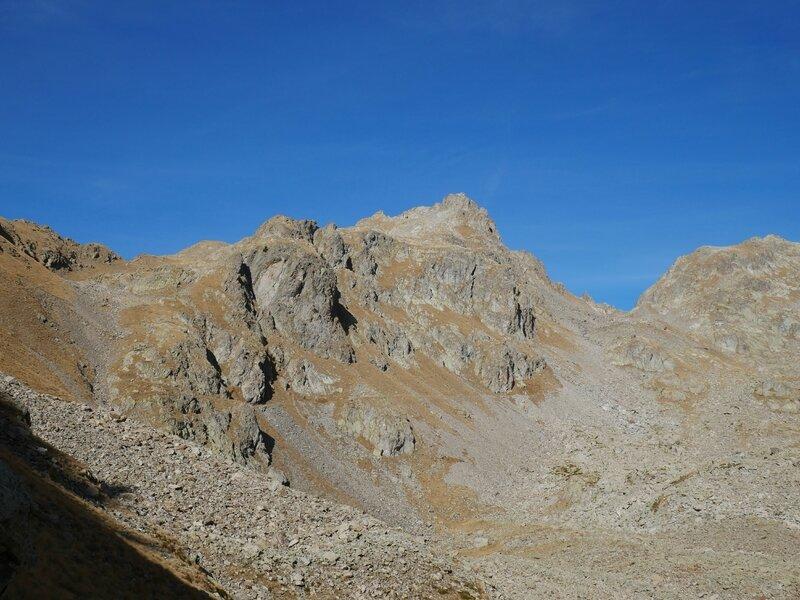 Pas des Ladres, Cime Ouest et Col de Fenestre....