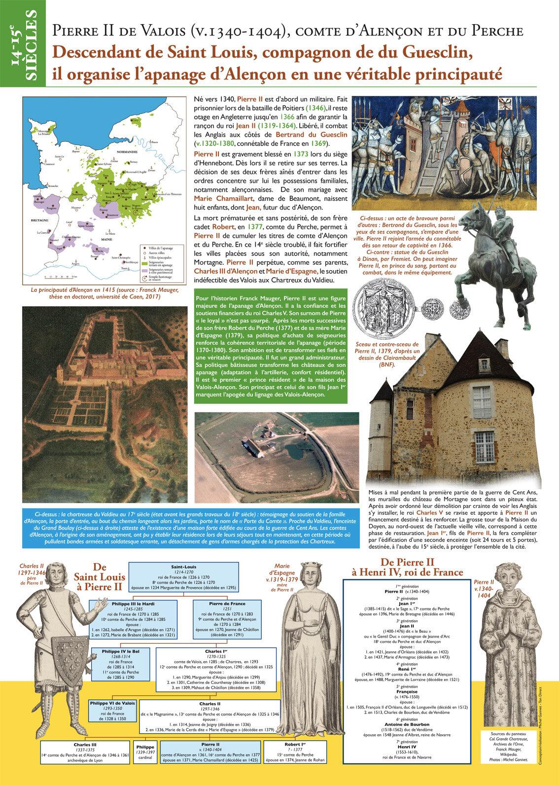 04 Pierre II Guerre de 100 ans (64x90 cm)