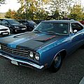 Plymouth road runner hardtop coupe, 1969