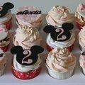 Cupcakes mickey et minnie