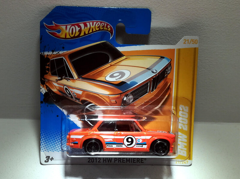 Bmw 2002 (Hotwheels) 06
