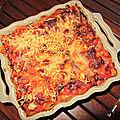 Lasagnes asiatique de giroflet