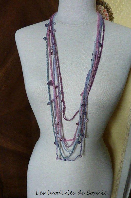 Leçon n°1 collier en laine (2)