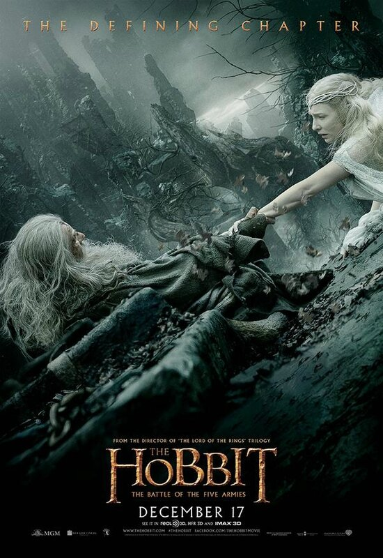 Galadriel and Gandalf poster The Hobbit The Battle of the Five armies
