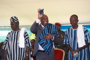 """Laurent Gbagbo aux populations du Zanzan : """"Bondoukou doit choisir le bon médecin qui peut guérir le peuple"""""""