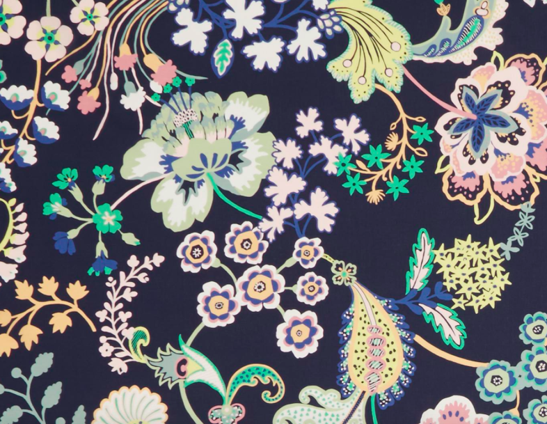 0363 8116 C Floral Symphony Navy